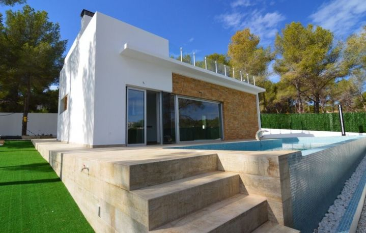 New Build Property for Sale in Benissa Costa Blanca