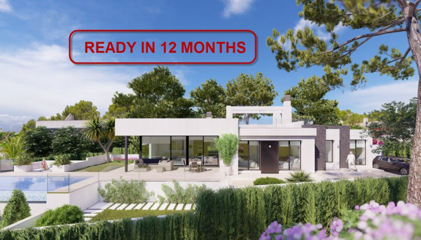 New Build - Villa - Benissa - Fustera