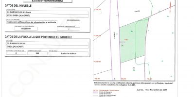 Plot - Sale - Orba - Orba