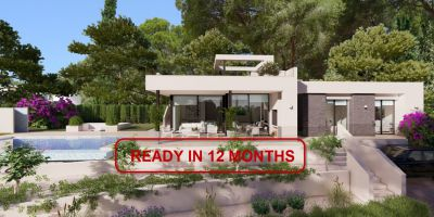 Villa - New Build - Benissa - Fustera